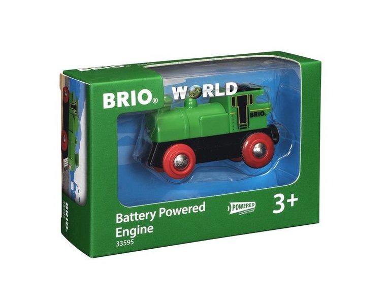 Brio batteridrivet lok 1