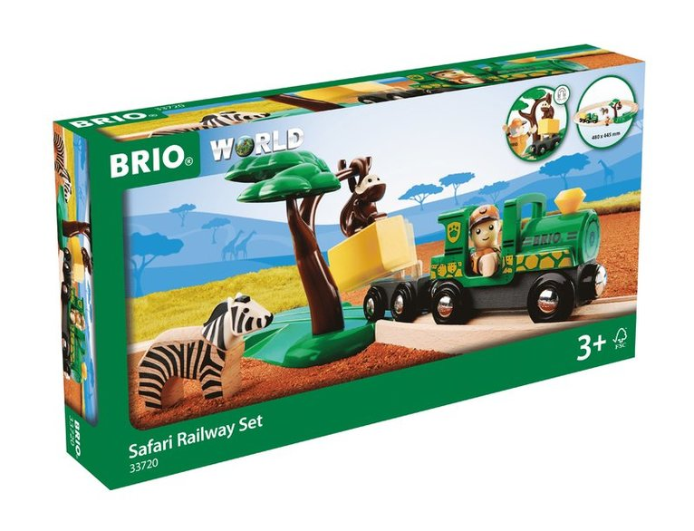 Brio tågbana safari 1