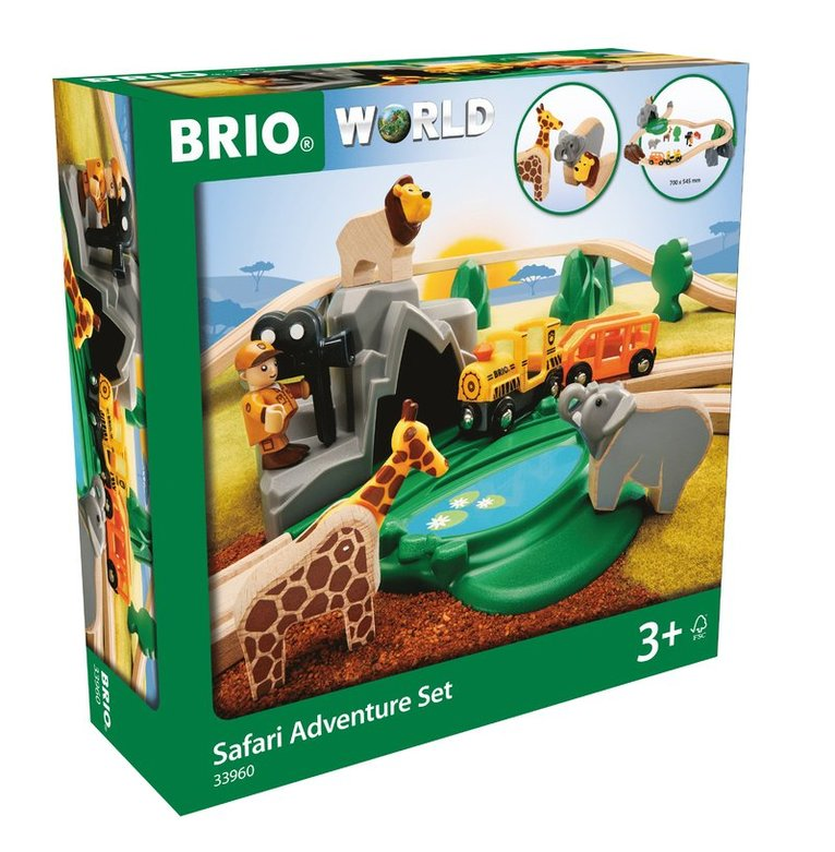 Brio tågbana safariäventyr, 26 delar 1