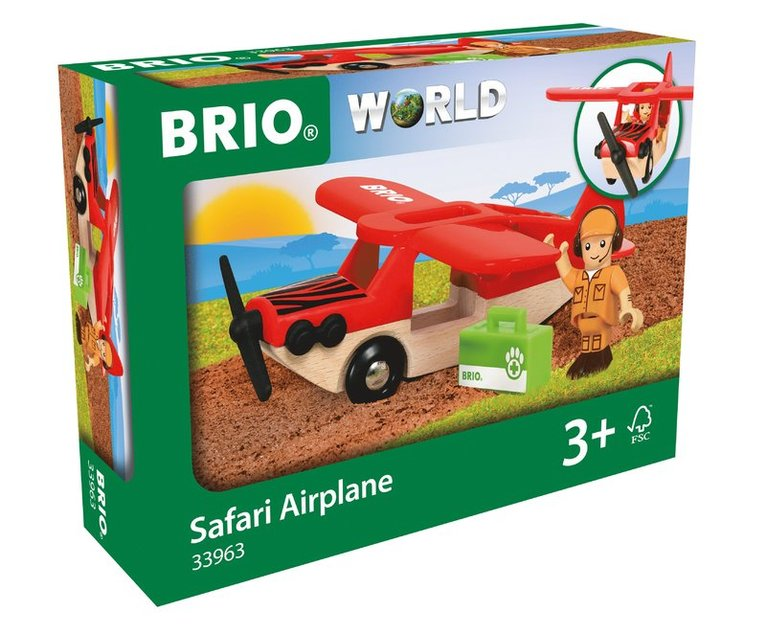 Brio safariflygplan 1