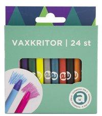Vaxkritor 24 färger