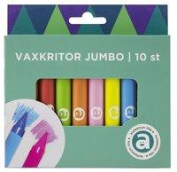Vaxkritor Jumbo 10 färger