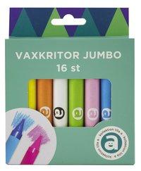 Vaxkritor Jumbo 16 färger