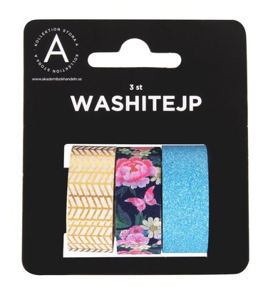 Washitejp 15mm x 4,6m 3-pack Blossom 1