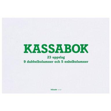 Kassabok A4L orange 1