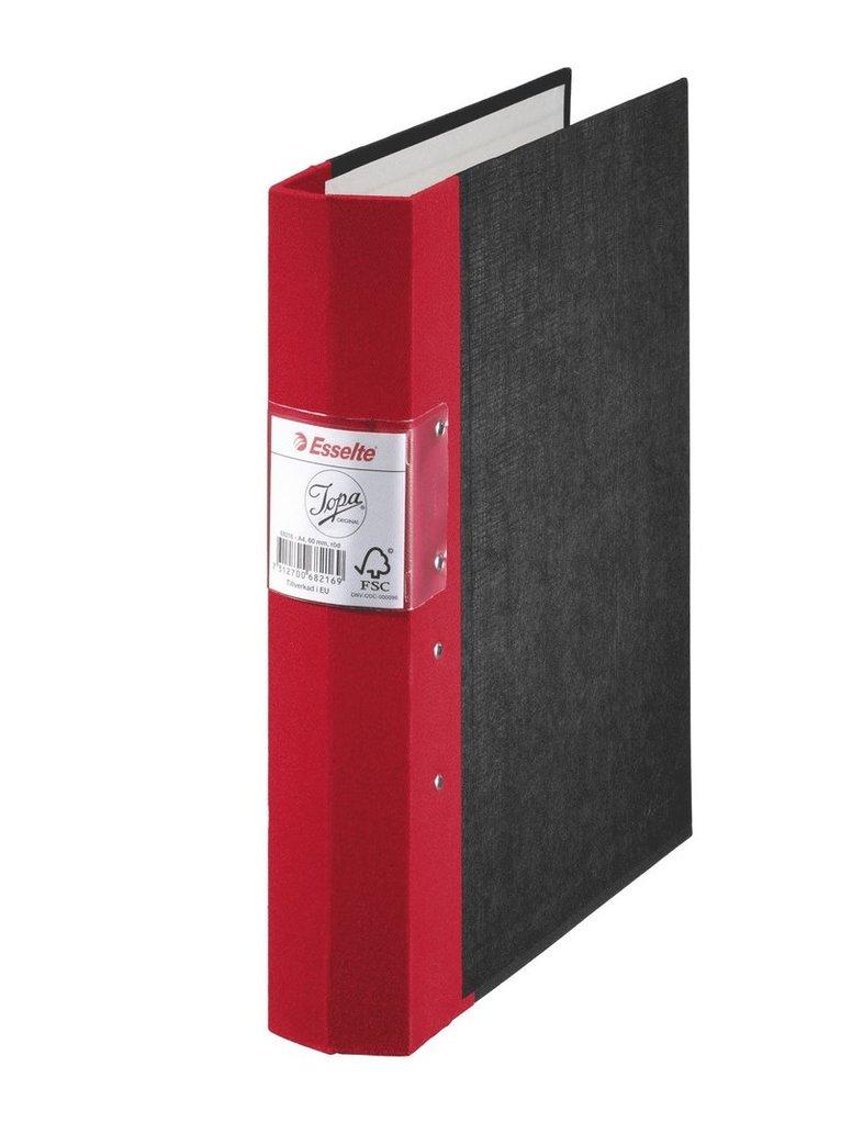 Gaffelpärm A4 Jopa 60mm röd 1