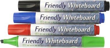 Whiteboardpenna Friendly sned spets 4 färger