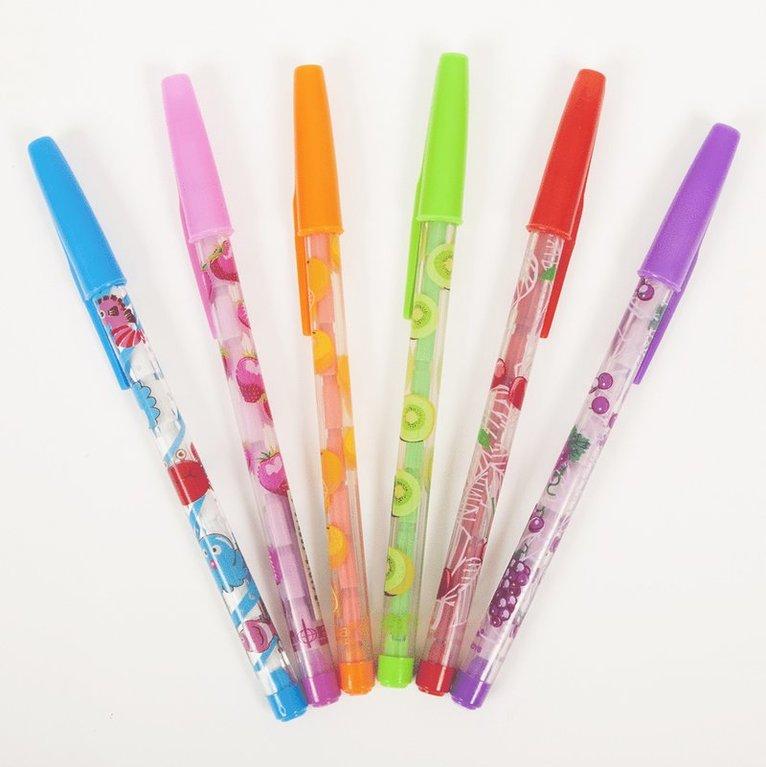 Stiftpenna med fruktdoft 1