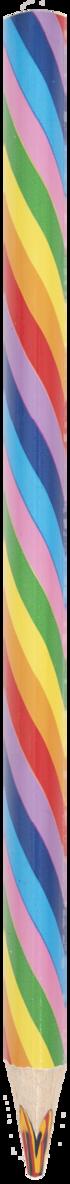 Färgpenna tjock spets Rainbow