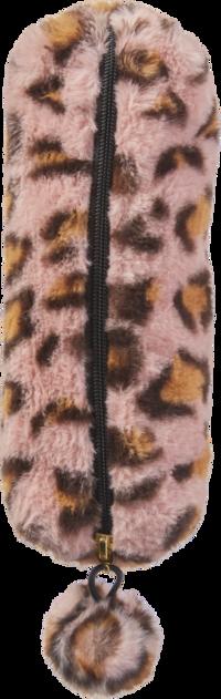 Pennfodral leopard rosa