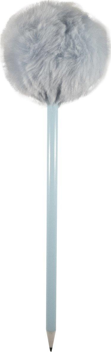 Kulspetspenna Pom Pom ljusblå