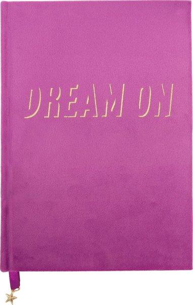 "Anteckningsbok A5 ""Dream on"" rosa"