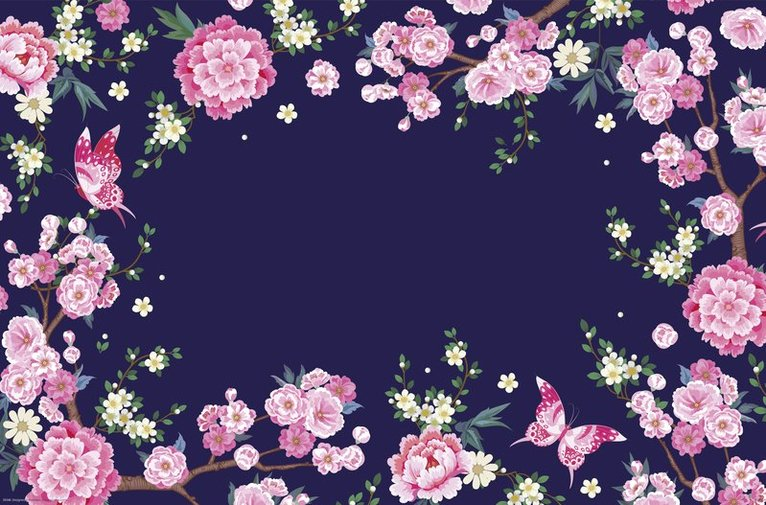 Skrivbordsunderlägg Blossom 1