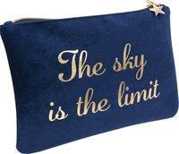 "Pennfodral ""The sky is the limit"" blå"