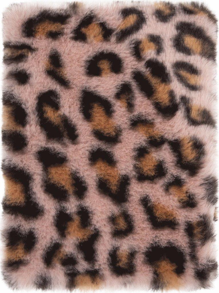 Anteckningsbok A5 Pom Pom leopard rosa 1