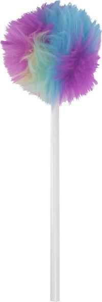 Blyertspenna Pom Pom neon regnbågsfärgad