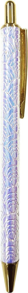 Kulspetspenna glitter vit 1