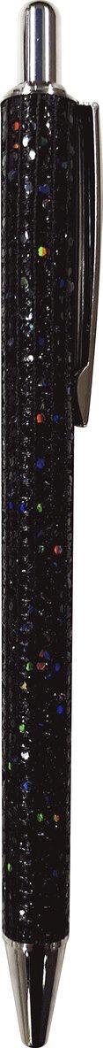 Kulspetspenna glitter svart 1