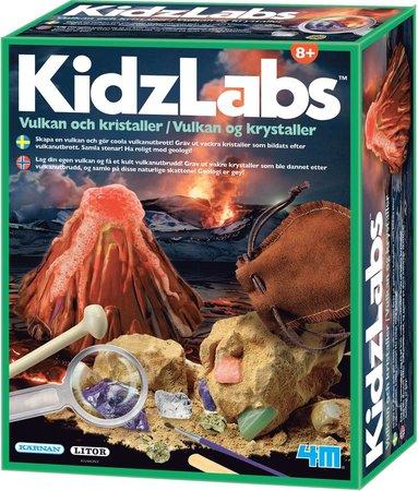 KidzLabs Vulkaner och kristaller 1