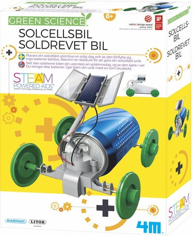 Experiment solcellsbil - Green Science