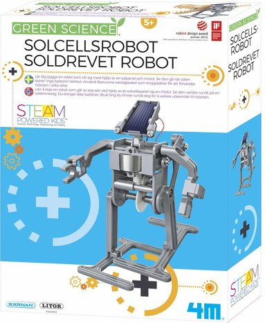 Experiment solcellsrobot - Green Science