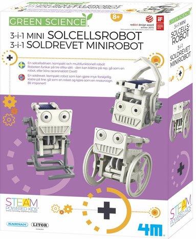 Experiment solcellsrobotar - Green Science