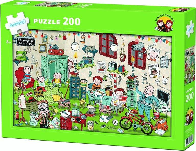 Pussel 200 bitar LasseMaja 1
