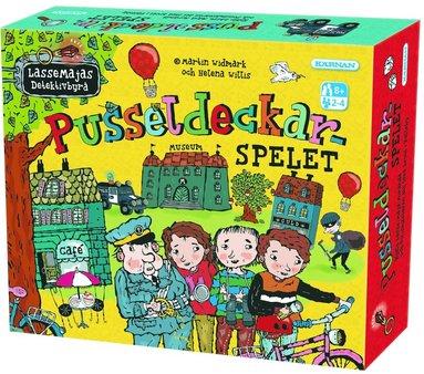 Lasse-Maja Pusseldeckarspelet 1