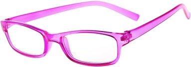 Läsglasögon +2.5 Lix Visby rosa
