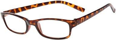 Läsglasögon +1.5 Lix Visby Havanna brun
