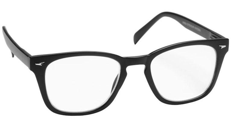 Läsglasögon +2.5 Furuvik mattsvart 1