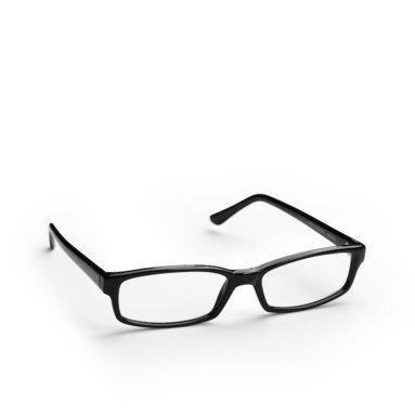 Läsglasögon +2.5 Uppsala svart