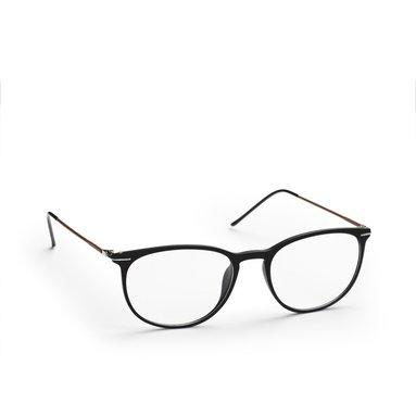 Läsglasögon +3.0 Lix tunn båge svart