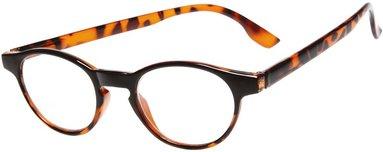 Läsglasögon Lix +1.5 Havanna brun