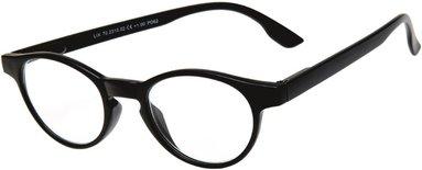 Läsglasögon Lix +3.0 svart