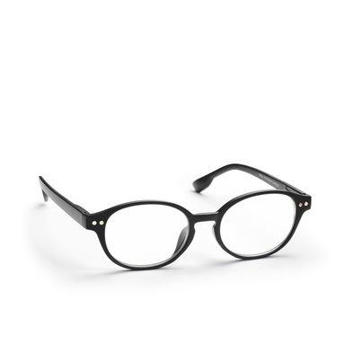 Läsglasögon +2.5 Lix runda mattsvart
