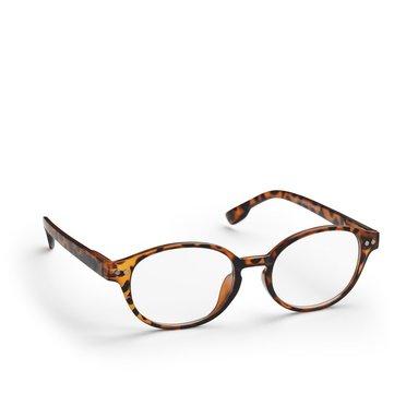 Läsglasögon +3.0 Lix runda Havanna brun