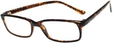 Läsglasögon Lix +1.0 Havanna brun