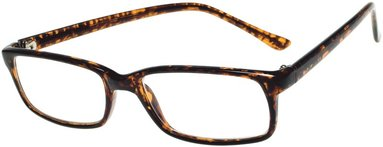 Läsglasögon Lix +3.0 Havanna brun