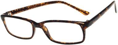 Läsglasögon Lix +3.5 Havanna brun
