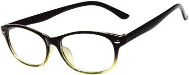 Läsglasögon +2.5 Lix svartgrön