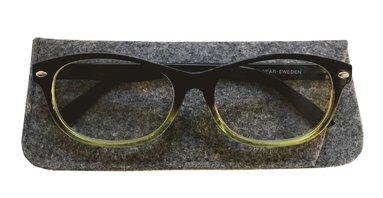 Läsglasögon +3.0 Lix svartgrön 1