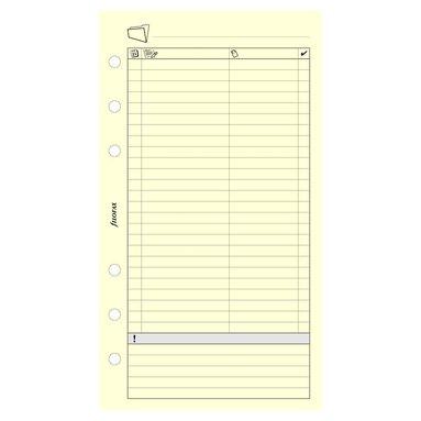 Kalenderdel Filofax Personal arbetsplanering
