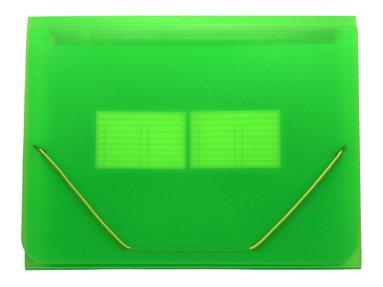 Hemarkiv A4 plast neongrön