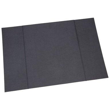 Skrivbordsunderlägg 39x59cm canvas svart