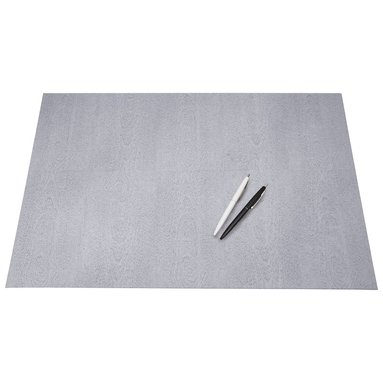Skrivbordsunderlägg Annie trälaminat grå ek 1