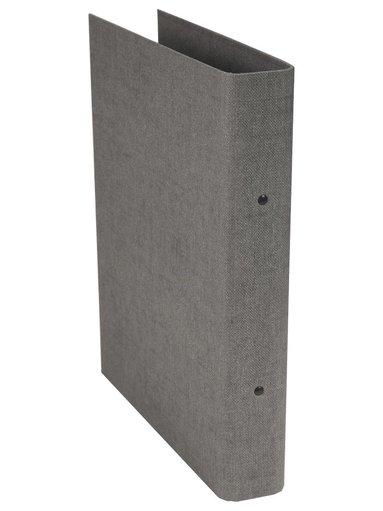 Ringpärm Ringo canvas grå 1