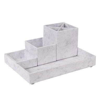 Skrivbordsställ Lena marmor 1