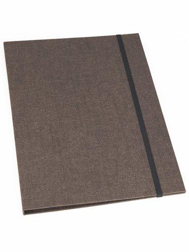 Mapp A4 Paulina canvas brun 1