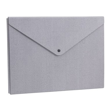 Kuvertmapp Liam trälaminat grå ek 1